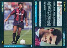 SCORE 93 CALCIO TRADING CARD anno 1993-BOLOGNA,PAOLO LIST-N.176