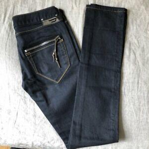 DIESEL Clush Stretch dark indigo wash jeans Slim fit Size 27 W / 34 L Women