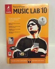 Roxio Record Now Music Lab 10 - PC Computer Software  w/CD-Key -