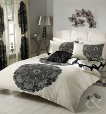 Just Contempo Buttoned Abstract Bedding Sets & Duvet Covers