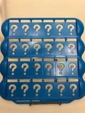 Guess who replacement game board tray blue parts Milton Bradley Hasbro
