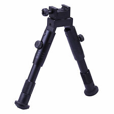 """Leapers UTG Shooter's SWAT Bipod Rubber Feet Height 6.2""""-6.7"""" TL-BP28S"""