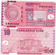 Bangladesh billet neuf de 10 taka p-47 NEUF/UNC