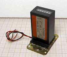 Pulse Counter 12V DC AW16.00/S43  electromechanical GERMANY [M1-MA]