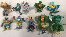 Lot Of Vtg Ninja Turtles Action Figures Retro Tmnt Teenage Mutant 90s Cars