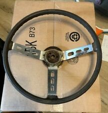AMC Sport Steering Wheel - Brown - 1974 Javelin
