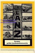 Lanz Traktor XL Reklame 1941 Landmaschine Europa Schlepper Werbung