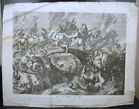 Battle Von The Amazons Aft Ap Rubens Schlacht Der Amazonen C 1750 G Miller Sc