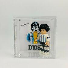 Display Cornice Lego Calciatori Diego Armando Maradona D10S Argentina Napoli