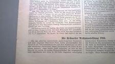 1910 30 Brüssel Weltausstellung