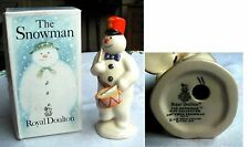ROYAL DOULTON DRUMMER SNOWMAN  WITH BOX  DS15  -ref 1
