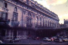 35mm Vintage Slide Paris France 1971 Gare D'Orsay Old Cars Left Bank Seine L@@K!