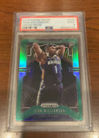 2019-20 Panini Prizm Green #248 Zion Williamson Pelicans RC Rookie PSA 9 MINT