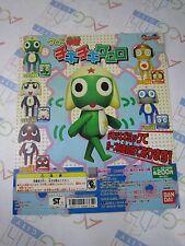 Keroro Gunso Sergeant Frog Chiki Chiki Keroro Gashapon Machine Paper Card Bandai
