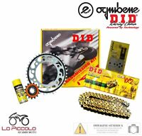 KIT TRASMISSIONE PREMIUM DID CATENA CORONA PIGNONE DUCATI MONSTER DESMO 600 1995