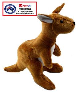 1 X PLUSH KANGAROO teddy gift soft toy joey stuffed Aussie animal Australian