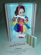 doll, Madame Alexander, Lollipop, 8 inch, 2017 convention, Mib, Limited Edition