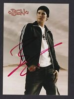 BEN    .....  Signierte  Autogrammkarte