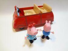 Peppa Pig Little Red Car - Three Seats -