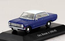 Opel Rekord A Coupe blau 1963-1965 1:43 Hachette/Norev Modellauto