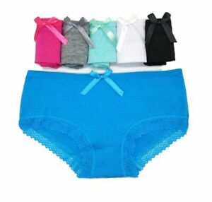 6 Pack Womens Cotton G-string Thongs Underwear Sexy Panties Seamless Knickers