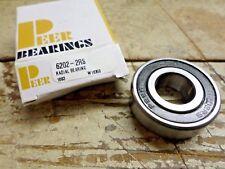 4 - Peer Radial Bearings 6202-2RS 35mm OD x 15mm ID x 11mm
