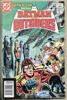 Batman And The Outsiders #2-1983 fn 6.0 Jim Aparo 3rd Katana appearance