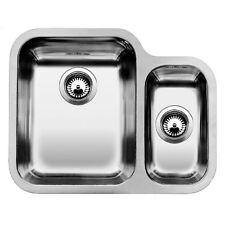 Blanco Ypsilon 550-U 1.5 Bowl St Steel Undermount Sink Left Hand Main Bowl