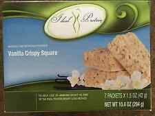 IDEAL PROTEIN Vanilla Crispy Squares-15G-Sweet & Crunchy-Fast Free Shipping