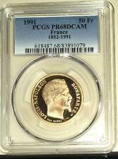 France - 50 Francs Napoléon III 1991 **PCGS PR68DCAM**