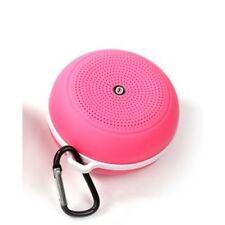 SUPERBASS Portable Mini Altoparlante Bluetooth per tutti i tipi di SMARTPHONE ROSA {A