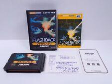 Mega-Drive Genesis -- FLASH BACK  -- JAPAN GAME. Work fully!. 13843