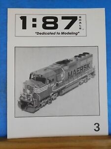 1:87 Scale Magazine Issue #3 Dedicated to Modeling May June 1992
