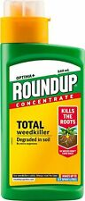 Roundup Optima+ Concentrate Total Weedkiller Kills The Roots 540ml