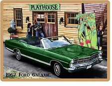 1967 Ford Galaxie Convertible  Refrigerator / Tool Box  Magnet Gift Card Insert