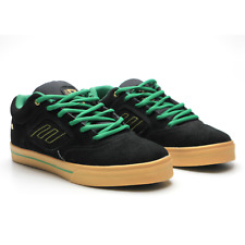 Emerica Reynolds 3 Shake Junt Mens Skateboarding Shoes Black Green Size 9.5 New