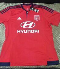 2015-16 Olympique Lyonnais Lyon adidas Away Football Soccer Shirt Jersey *BNWT