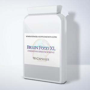 Brain Food XL - Adult Health, Child Health, Ginko Biloba, Men's Health