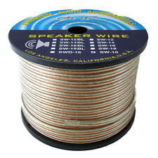 DNF 10 Gauge 100% Copper 2 Line Speaker Wire 50 Feet - SHIPS FREE TODAY!