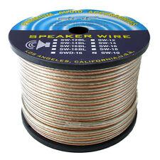 DNF 100% Copper 10 Gauge 2 Line Speaker Wire 250 Feet - SHIPS FREE TODAY!