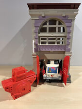 New listing Real Ghostbusters Firehouse Station Headquarters with Ecto-1