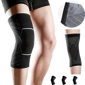 Knee Sleeve Compression Brace Sports Joint Pain Arthritis Relief Patella Protect