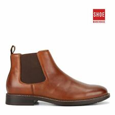 Hush Puppies HANGER Neutrals Mens Slip-on Casual Leather Boots