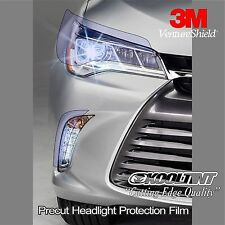 Headlight Protection Film by 3M for 2015 2016 Toyota Camry Sedan