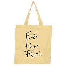 Eat the Rich Tote Bag / Kendrick Lamar 2pac Tupac Otep  Activist Revolution Punk