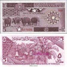 Somalië 31a UNC 1983 5 Shilling Büffel