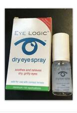 2 Pack EYE LOGIC Formerly Clarymist Eye Spray 2x 10ml Dry Eyes Soya Lecithin