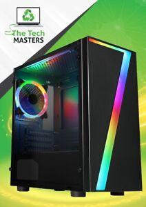 ULTRA FAST Gaming PC Intel Core i3 8GB RAM 120GB SSD + 500GB Windows 10 GT 1030