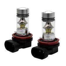 2pcs 100W H8 Bombilla Cree LED 20SMD para Luz de Niebla Luz Blanco 6000K