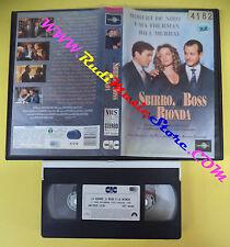 VHS film LO SBIRRO IL BOSS E LA BIONDA 1993 DeNiro Thurman UNIVERSAL(F72)no dvd